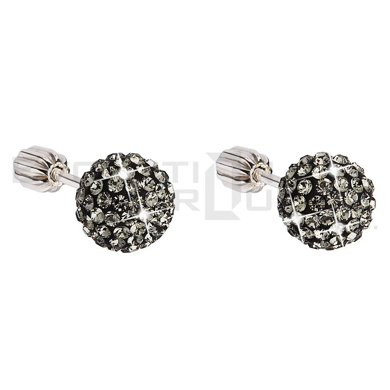 Kolczyki SWAROVSKI ELEMENTS 31111.3 black diamond