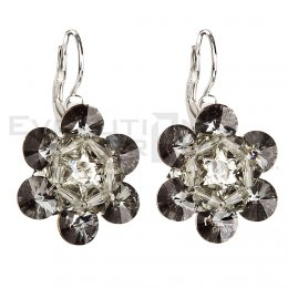 Kolczyki SWAROVSKI ELEMENTS 31133.5 silver night