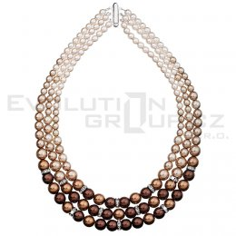 Naszyjnik SWAROVSKI ELEMENTS 32009.3 brown