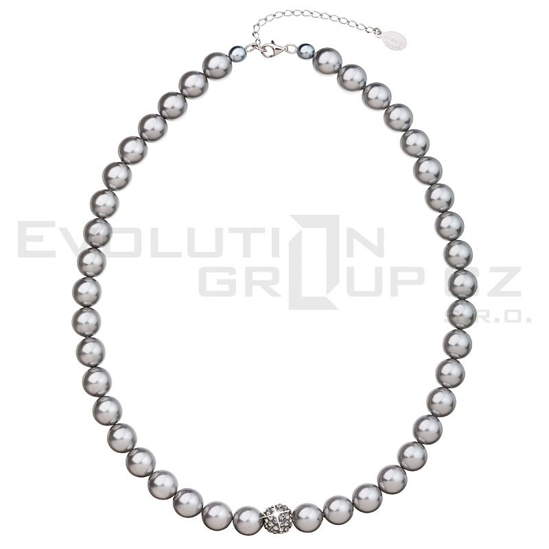 Naszyjnik SWAROVSKI ELEMENTS 32011.3 light grey