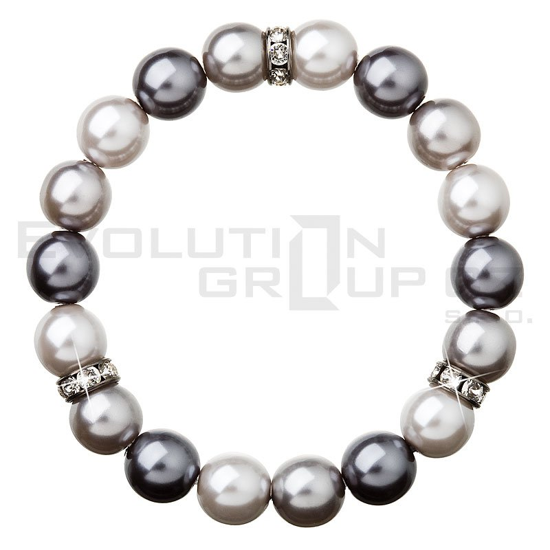 Bransoletka SWAROVSKI ELEMENTS 33061.3 grey