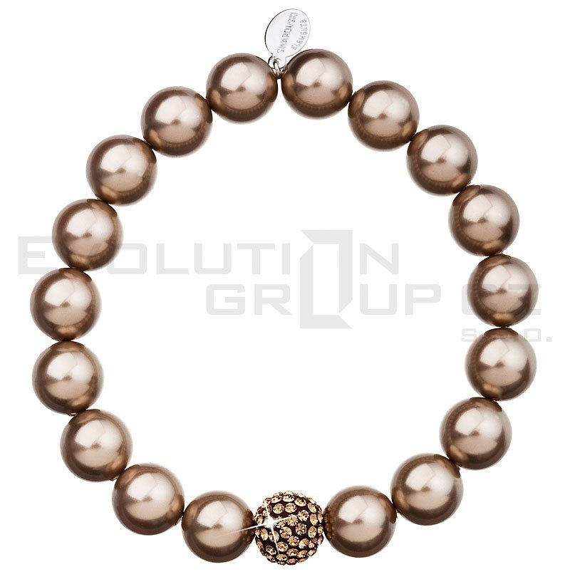 Bransoletka SWAROVSKI ELEMENTS 33074.3 bronze