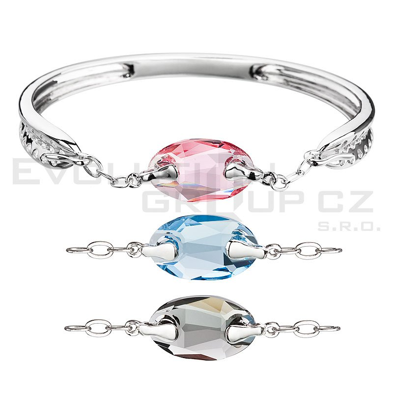 Bransoletka SWAROVSKI ELEMENTS 33079.3 mix 3 kolorow