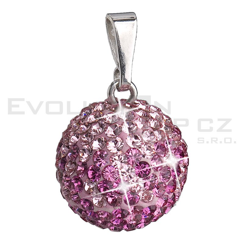 Wisiorek SWAROVSKI ELEMENTS 34080.3 rose