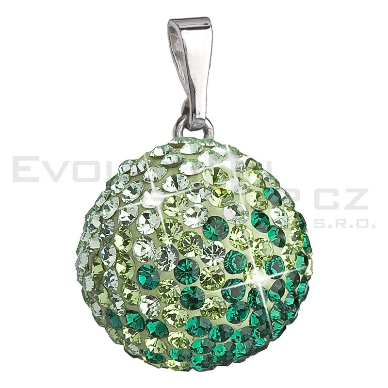 Wisiorek SWAROVSKI ELEMENTS 34081.3 emerald