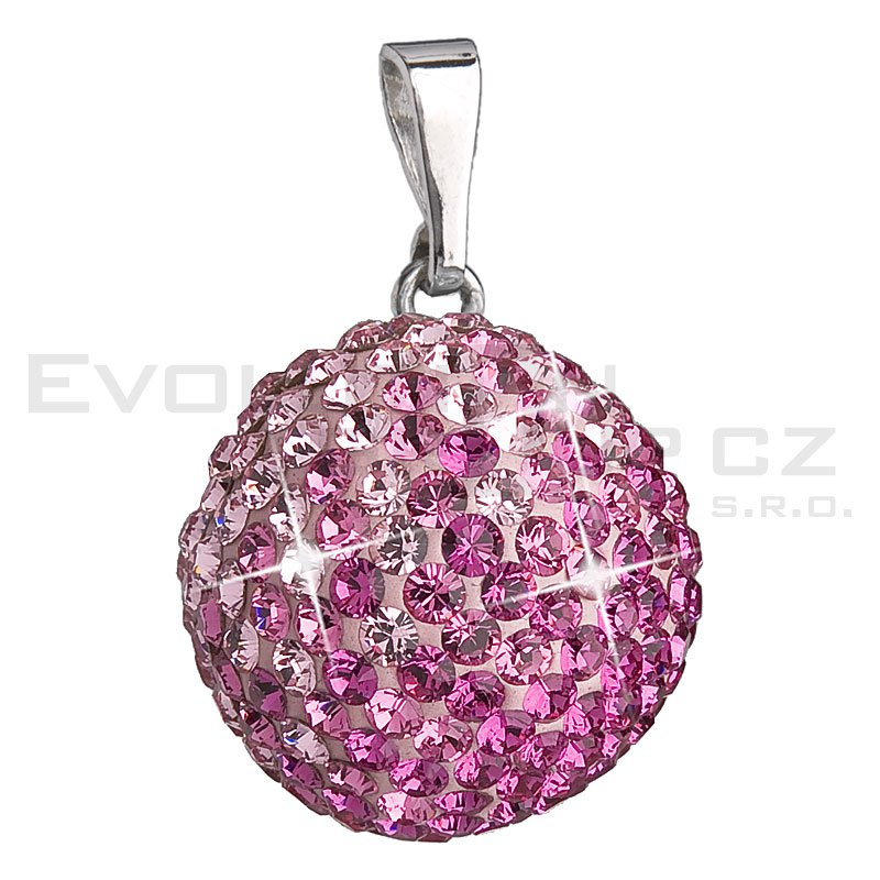 Wisiorek SWAROVSKI ELEMENTS 34081.3 rose