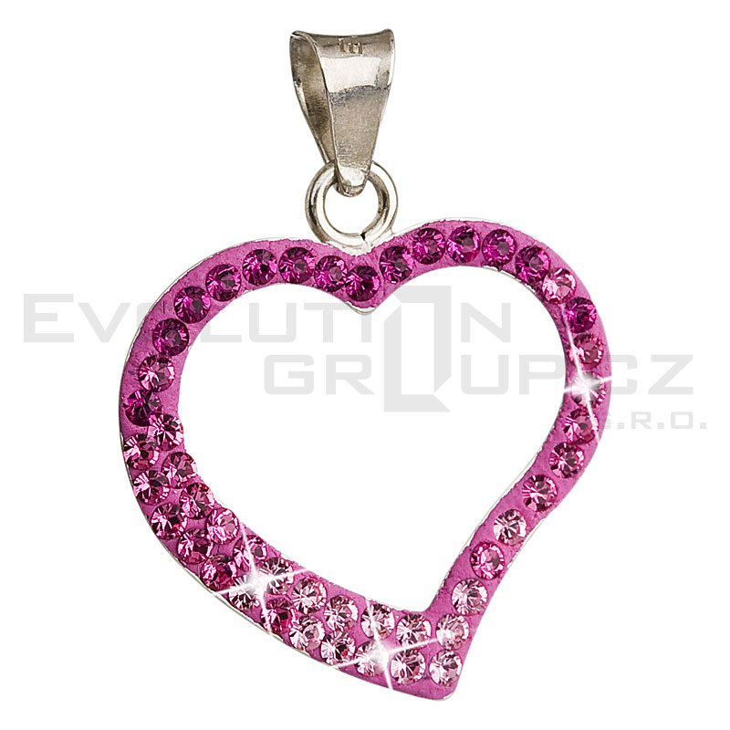 Wisiorek SWAROVSKI ELEMENTS 34093.3 rose