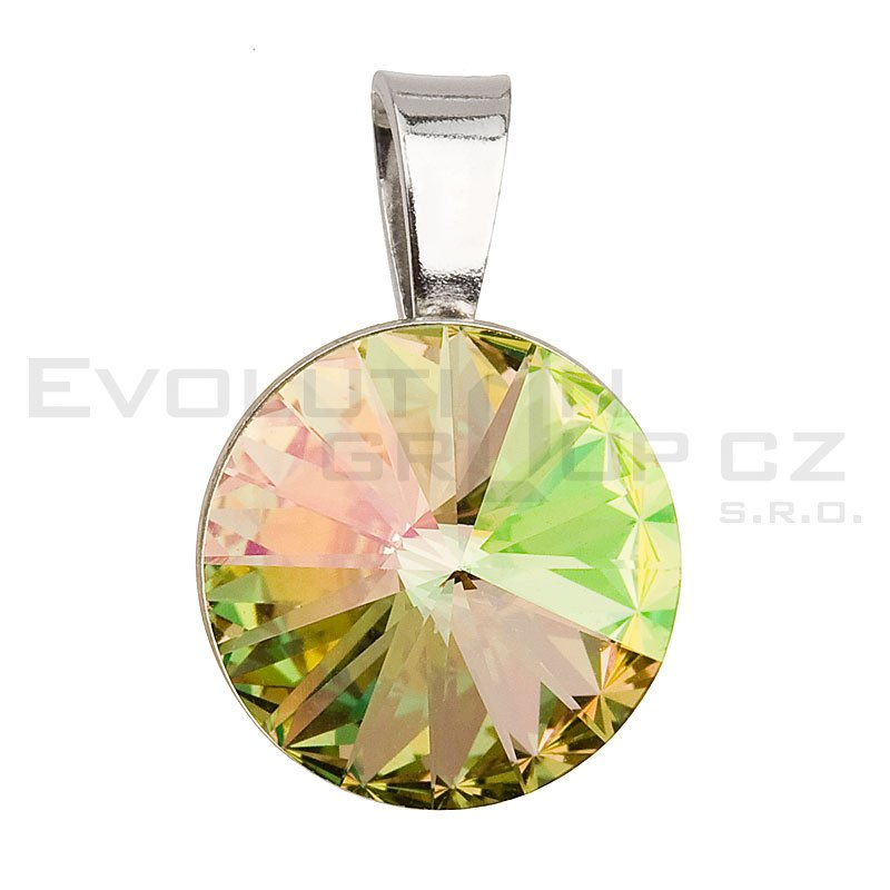 Wisiorek SWAROVSKI ELEMENTS 34112.5 luminous green