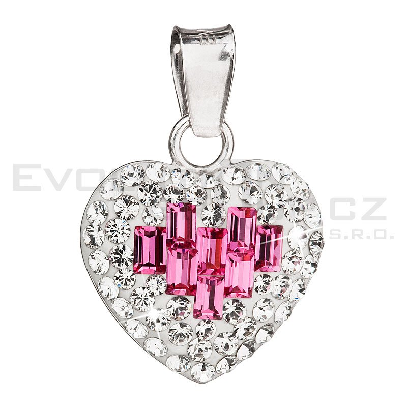 Wisiorek SWAROVSKI ELEMENTS 34156.3 rose