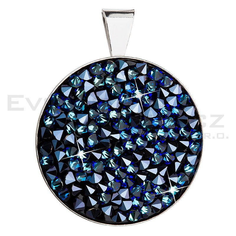 Wisiorek SWAROVSKI ELEMENTS 34157.5 bermuda blue