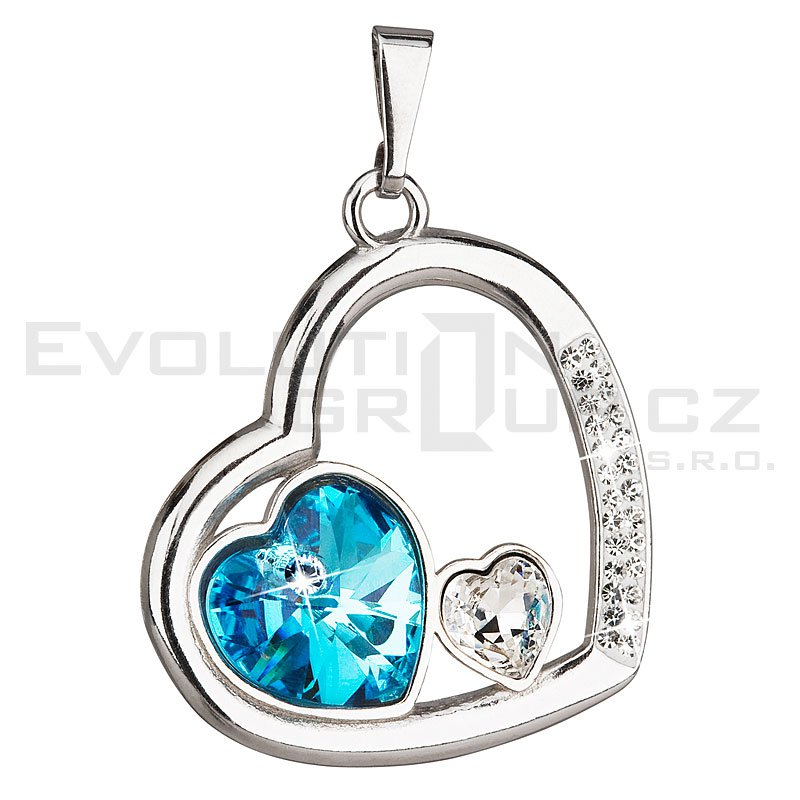 Wisiorek SWAROVSKI ELEMENTS 34162.3 aqua