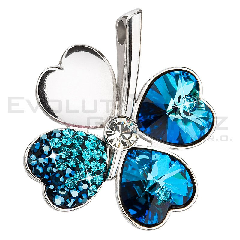 Wisiorek SWAROVSKI ELEMENTS 34163.3 bermuda blue