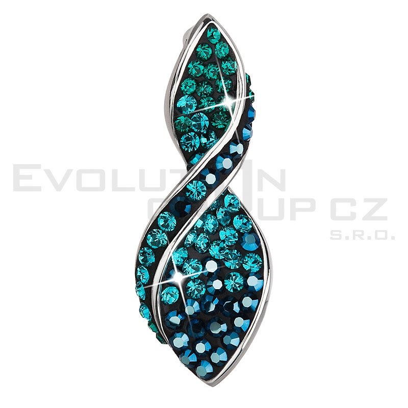 Wisiorek SWAROVSKI ELEMENTS 34166.3 magic green
