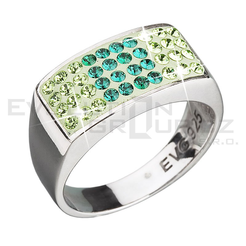Pierścionek SWAROVSKI ELEMENTS 35014.3 emerald