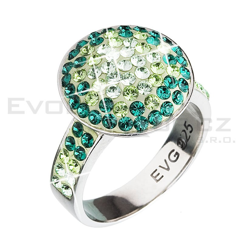 Pierścionek SWAROVSKI ELEMENTS 35015.3 emerald