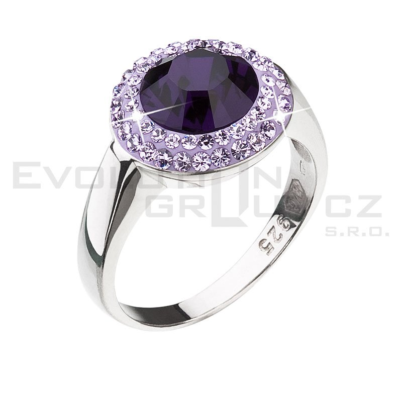 Pierścionek SWAROVSKI ELEMENTS 35025.3 purple velvet
