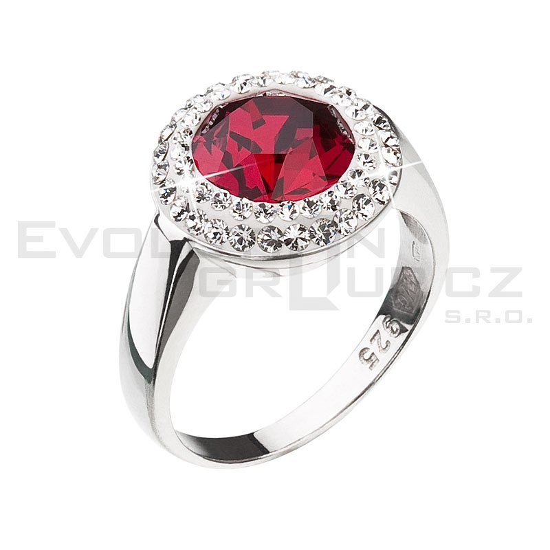 Pierścionek SWAROVSKI ELEMENTS 35026.3 ruby