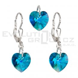 Zestaw SWAROVSKI ELEMENTS 39003.3 blue zircon AB