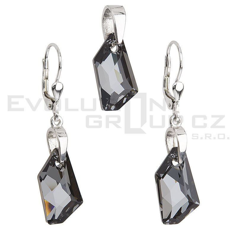Zestaw SWAROVSKI ELEMENTS 39039.4 silver night