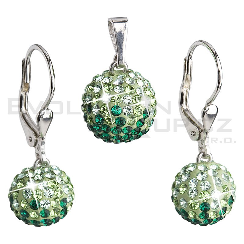 Zestaw SWAROVSKI ELEMENTS 39072.3 emerald
